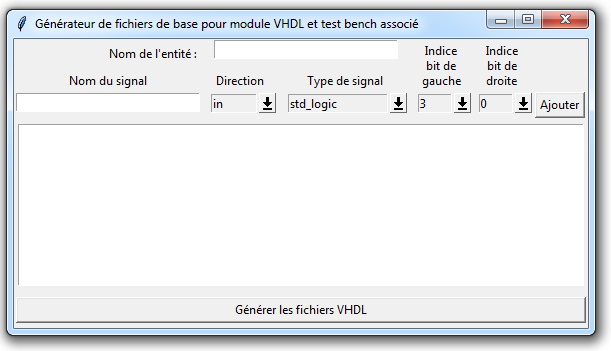 generateur bases vhdl